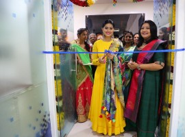 Sneha launches Vcare clinic at Ambattur in Chennai.