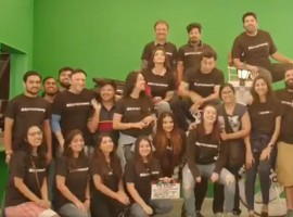The ace filmmaker along with the cast and crew were excited as they completed the shooting for the much awaited biopic of 2018. The entire cast and crew were having ball of a time as they were seen donning unique tshirts which stated #Duttstheway.