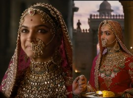 The actress who portrays the role of Rani Padmavati symbolizing not just beauty but also courage and valour, has set a huge benchmark for other actresses with her brilliant performance in the film.