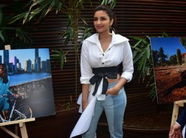 Actress Parineeti Chopra, the first Indian woman ambassador of the