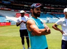 India won the toss and elected to bat in the third and final Test match against South Africa at the New Wanderers Stadium here on Wednesday. Skipper Virat Kohli made two changes to the team. Ajinkya Rahane was included in the playing XI in place of Rohit Sharma while pacer Bhuvneshwar Kumar replaces off-spinner Ravichandran Ashwin.