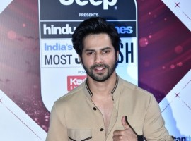 Varun Dhawan at HT India's Most Stylish Awards 2018 held at Yash Raj Studio in Mumbai on January 24, 2018.