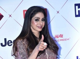 Sridevi attends the HT India's Most Stylish Awards 2018 at Yash Raj Studio in Mumbai on January 24, 2018.