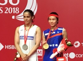 Star Indian shuttler Saina Nehwal was outplayed by Chinese Taipei's top seeded Tai Tzu Ying in the final of the $350,000 Indonesia Masters World Tour Super 500 here on Sunday. World No.1 Tai took only 27 minutes to win 21-9, 21-13 as she unleashed an array of strokes to floor the 2012 Olympic bronze medallist. Saina, thus registered her seventh straight defeat against the world no.1 -- who leads the head-to-head battle 9-5 against the Indian.