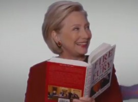 Hillary Clinton made a surprise appearance at the Grammy Awards and took part in a comedy bit taking a jab at US President Donald Trump. The former presidential candidate, along with Cher, Snoop Dogg, Cardi B, John Legend and DJ Khaled were among those who read excerpts from Michael Wolff's