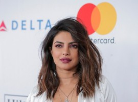Priyanka Chopra attends the 2018 Pre-GRAMMY Gala & GRAMMY Salute to Industry Icons presented by Clive Davis and The Recording Academy honoring Shawn