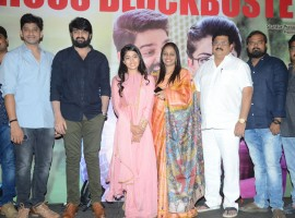 Chalo success meet held at Hyderabad. Naga Shourya, Rashmika Mandanna and Director Venky Kudumula graced the event.