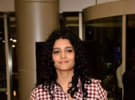 Ritika Singh at Cancer Crusaders Invitation Cup 2018 launch.