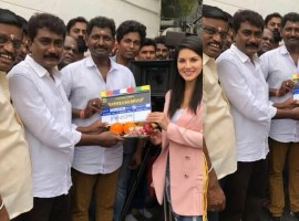 Sunny Leone starts shooting for her Tamil film Veeramadevi today. Directed by VC Vadivudayan, the project will be produced by Ponse Stephen of Steeves Corner.