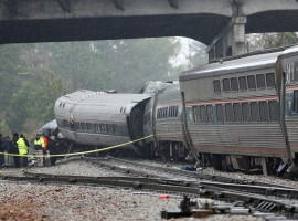 At least two persons were killed and 70 injured after an Amtrak passenger train collided with a freight train in South Carolina early on Sunday, officials said.