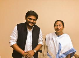 Gujarat's firebrand Patidar leader Hardik Patel on Friday met West Bengal Chief Minister Mamata Banerjee and said he was asked to join her Trinamool Congress.