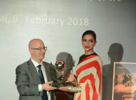 Deepika Padukone at Volare Awards 2018