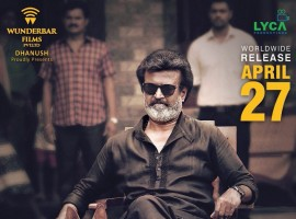 Superstar Rajinikanth's Kaala to hit screens on April 27.