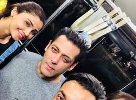 Bobby shared the news on Sunday on a Twitter post, where he shared a photograph of himself along with Salman, Daisy and the film's producer Ramesh Taurani.