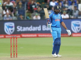 India clinched their maiden ODI series win on South African soil, taking an unbeatable 4-1 lead after outclassing the hosts by 73 runs in the fifth One-Day International (ODI) at the St. George's Park here on Tuesday. Opener Rohit Sharma led the tourists striking his 17th ODI century before chinaman Kuldeep Yadav returned figures of 4/51 to bowl the Proteas out for 201, in their chase of 274.