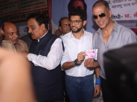 National Award-winning actor Akshay Kumar has installed a sanitary pad vending machine in Mumbai Central ST Bus Depot and hopes to put several across India.