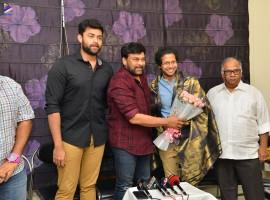 Megastar Chiranjeevi Chiranjeevi praises Varun Tej's recent movie Tholi Prema.