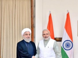 Prime Minister Narendra Modi on Saturday discussed bilateral cooperation across a range of areas and regional issues during a meeting with Iran President Hassan Rouhani here. Modi welcomed Rouhani at the Hyderabad House here ahead of delegation-level talks between the two sides.