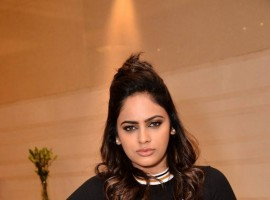 Nandita Swetha poses for the cameras during Exide Battery Doctors App launch.