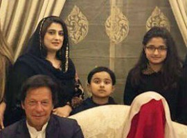 Imran Khan gets married for a third time, marries faith healer Bushra Maneka.