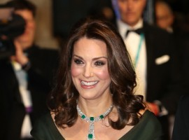 The Duchess of Cambridge Kate Middleton on Monday defied the Times's Up protest at the 71st British Academy Film Awards, organised by the British Academy of Film and Television Arts (BAFTA), by wearing a green dress, instead of black worn by the celebrities attending the ceremony.