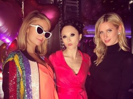 Socialite Paris Hilton celebrated her 37th birthday at a party in Manhattan with family, including sister Nicky Hilton Rothschild and aunt Kyle Richards, and friends like Paris Jackson.