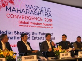 Superstar Shah Rukh Khan and Filmmaker Ritesh Sidhwani represented the Entertainment Industry as they graced the Magnetic Maharashtra Convergence Summit of Global Investors this year.