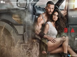 Sajid Nadiadwala's 'Baaghi 2' is buzzing and how! As the audience is all set to witness the power-packed trailer today, the makers have treated us with a sizzling poster of Tiger Shroff and Disha Patani. After teasing the audience with a sneak peek into 'Baaghi 2' with a teaser and an action poster, the latest posters turn up the heat with the sizzling chemistry of Tiger Shroff and Disha Patani.
