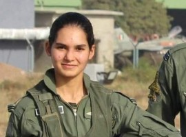 Flying Officer Avani Chaturvedi became the first Indian woman to fly a fighter aircraft MiG-21 bison solo.