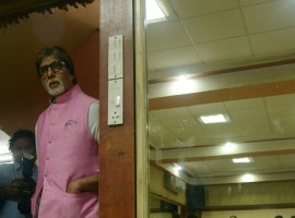 Megastar Amitabh Bachchan has lent his voice for a song titled