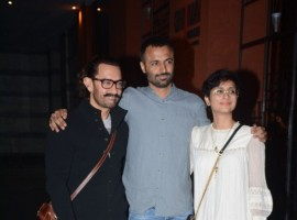 The actor's team who have been demanding for a party for quite some time finally got together to celebrate the film's  success.