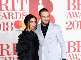 Liam Payne and Cheryl Cole attend The BRIT Awards 2018.