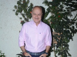 Anupam Kher attends the special screening of Bollywood movie Welcome to New York held in Mumbai.