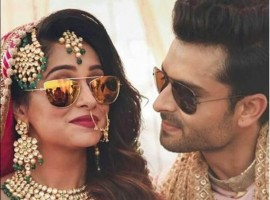 Television star Dipika Kakar has entered wedlock with Shoaib Ibrahim at a grand wedding ceremony on 23 Feb 2017.