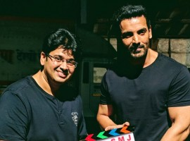 Filmmaker Milap Zaveri along with actor John Abraham have started shooting for their upcoming film