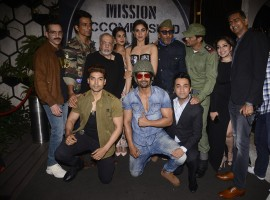 Luv Sinha, Siddhanth Kapoor, Gurmeet Choudhary, Arjun Rampal, J.P.Dutta, Sonu Sood, Anu Malik, Jackie Shroff, Harshvardhan Rane and Monica Gill