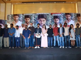 Nota movie press meet event held in Chennai. Vijay Devarakonda, Mehreen Pirzada, Sathyaraj, Producer KE Gnanavel Raja and Vijay Varadharaj graced the event.