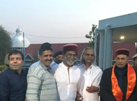 Tamil superstar Rajinikanth arrived here on Sunday on what he called his