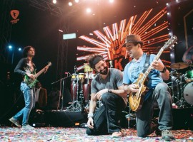 Bollywood actor Farhan Akhtar has been touring across the globe performing live along with his music band Farhan Akhtar Live.