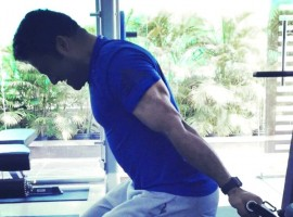 Actor Jr NTR in full swing for shaping his body fit for SS Rajamouli film.