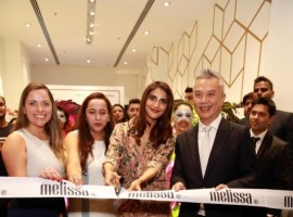 Actress Vaani Kapoor during launch of Melissa Store in New Delhi.