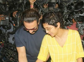 Bollywood superstar Aamir Khan, who turned 53 today (March 14), celebrated his birthday with media.
