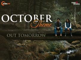 Actor Varun Dhawan and Banita Sandhu's October movie poster.