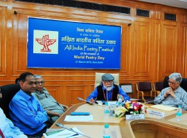 Eminent poets representing 24 Indian languages participated in an All India Poetry Festival was organised by the Sahitya Akademi here to commemorate World Poetry Day.