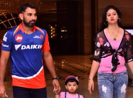 Mohammed Shami's 'happy days' with wife Hasin Jahan.