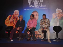 'Dharam Sankat Mein': Paresh Rawal, Naseeruddin Shah Attend Trailer Launch of Their Upcoming Film