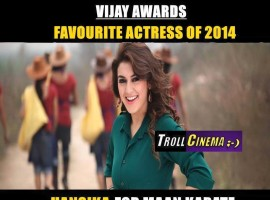 9th Vijay Awards 2015: Winners