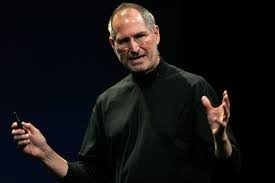 Steve Jobs was adopted at birth by Paul and Clara Jobs.