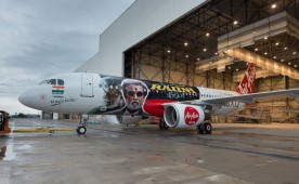 AirAsia promotes superstar Rajinikanth's Kabali movie.