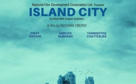 Island City is an upcoming Bollywood movie directed by Ruchika Oberoi and produced under the National Film Development Corporation Ltd. banner. The film stars Vinay Pathak, Amruta Subhash and Tannishitha Chatterjee in the lead role.